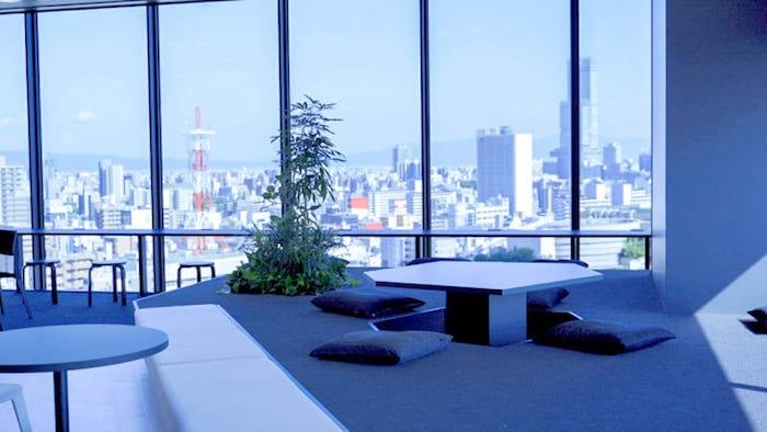 テックエキスパート大阪難波校の景色