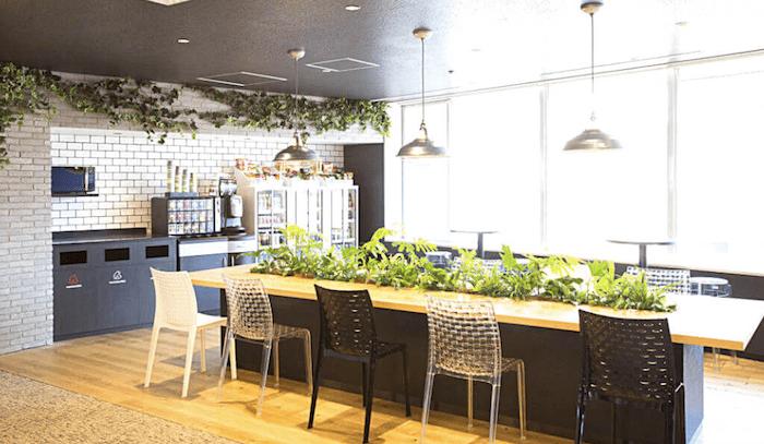 テックエキスパート渋谷校 カフェスペース