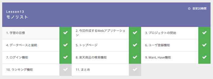 PHP/Laravelコースレッスン13